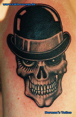 Tattoo Galerie - Motive - Schädel - Norman´s Tattoo
