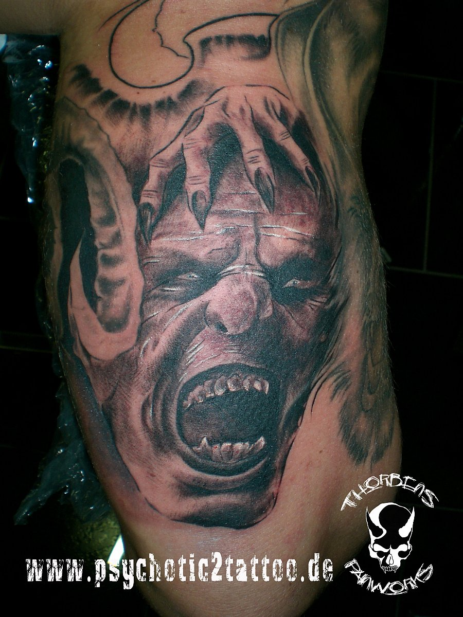 Tattoo Galerie - Motive - Orc - Thorbens Painworks/Psychotic2