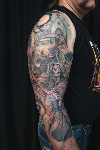 Tattoo Galerie - Motive - Grim Reaper - Tattoo & Piercing 4 You