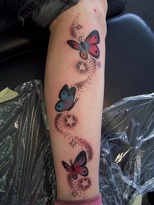Sterne tattoo schmetterling ▷ 1001+Tattoo